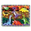 Melissa & Doug Wooden Chunky Puzzle - Dinosaurs