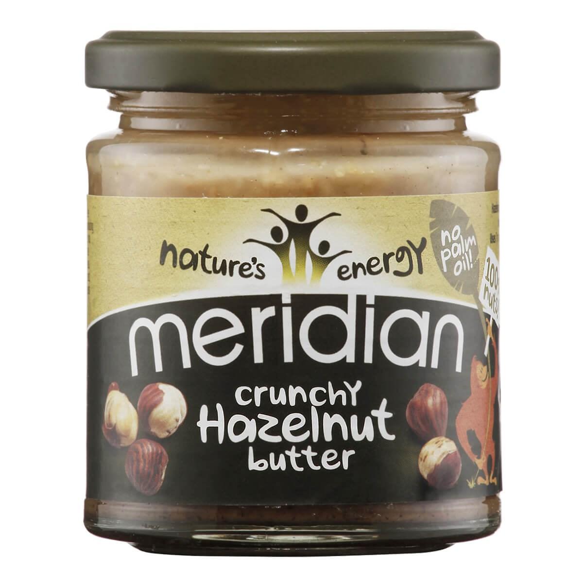 Meridian Crunchy Hazelnut Butter