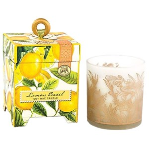 Michel Design Works Lemon Basil Soy Wax Candle