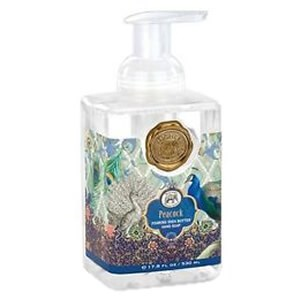 Michel Design Works Peacock Foaming Shea Butter Hand Soap