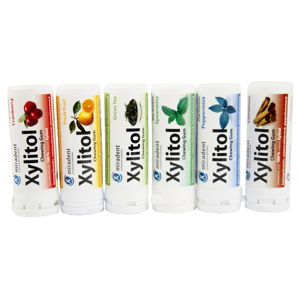 Miradent Xylitol Chewing Gum 30g/30pieces