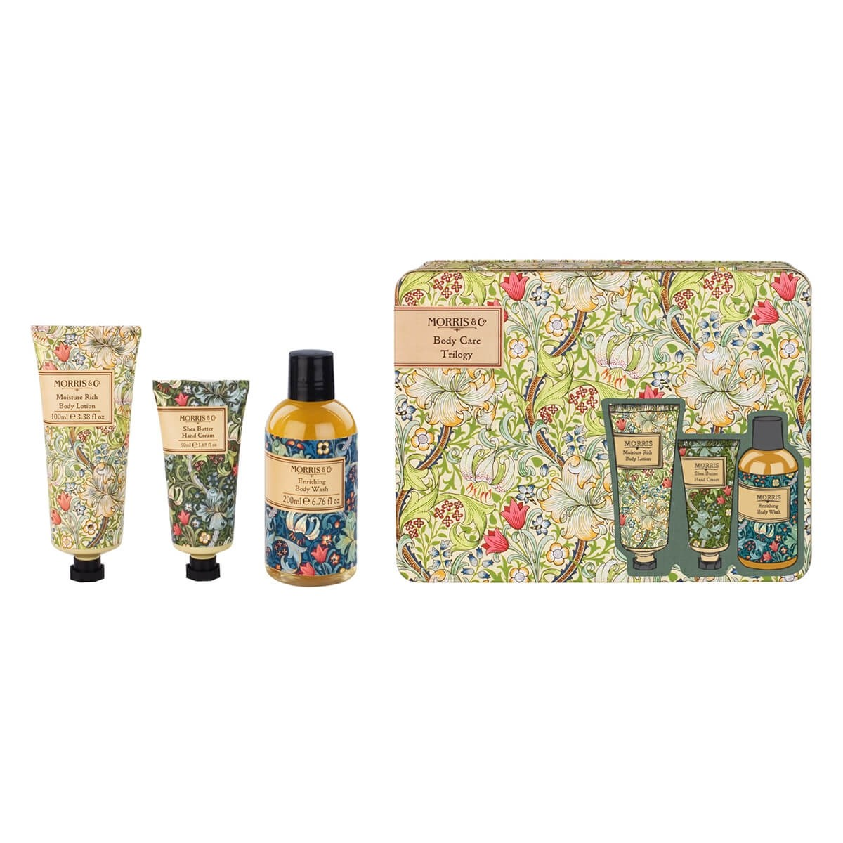 Morris & Co Golden Lily Body Care Trilogy