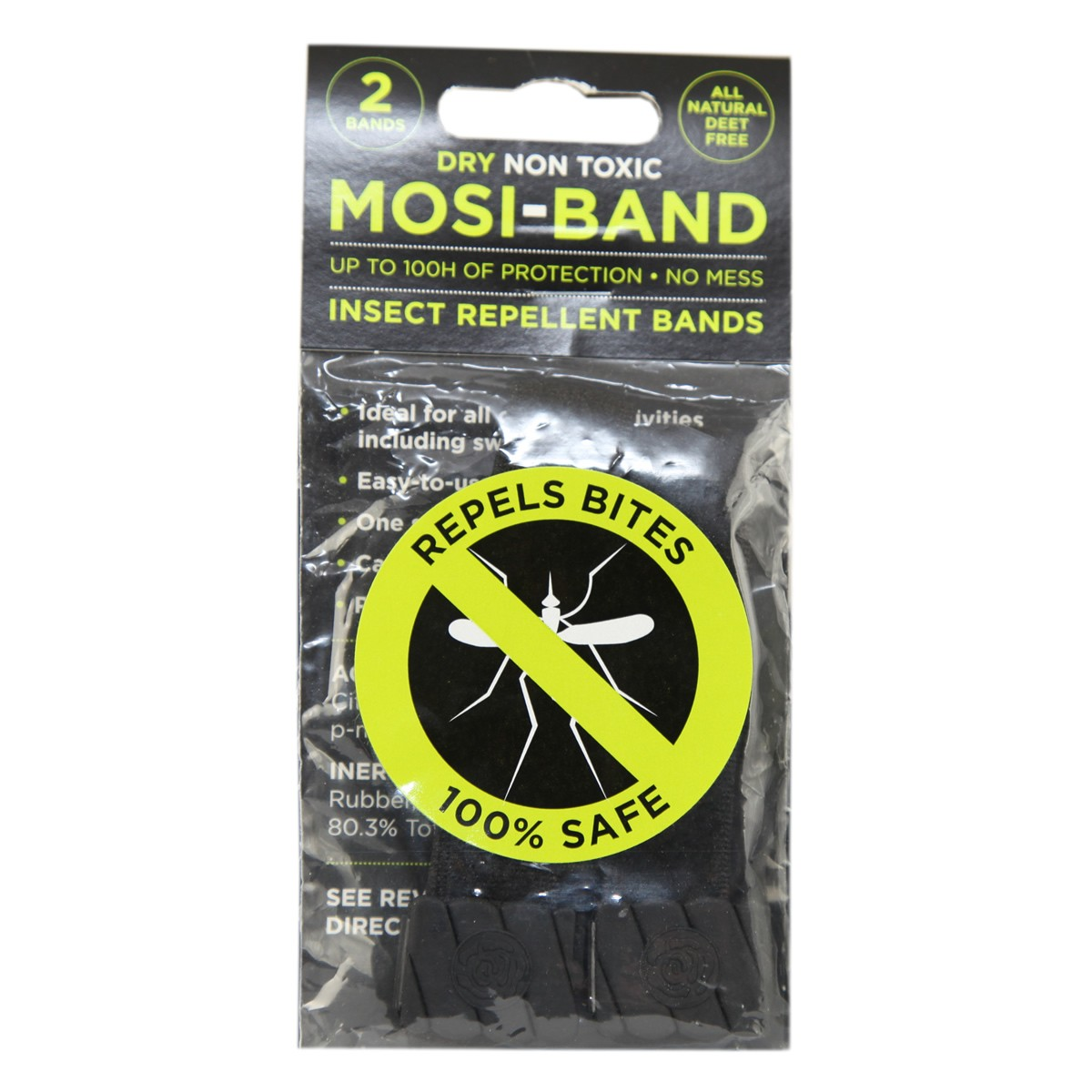 Mosi-Band Insect Repellent Bands Natural (Deet Free)