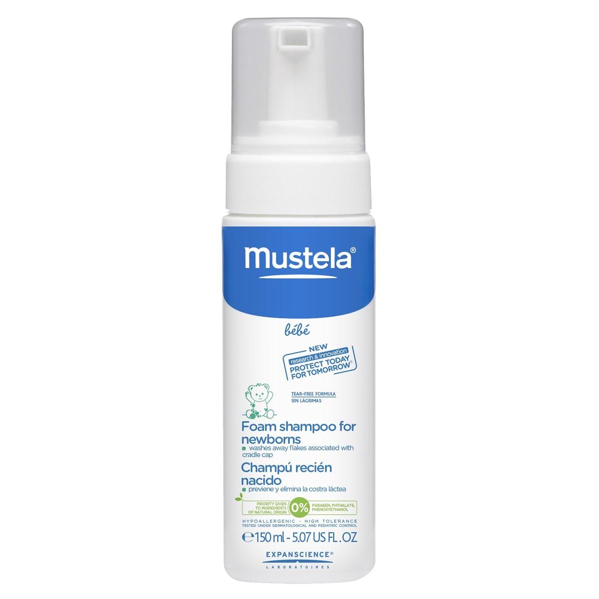 Mustela Bébé Foam Shampoo For Newborns