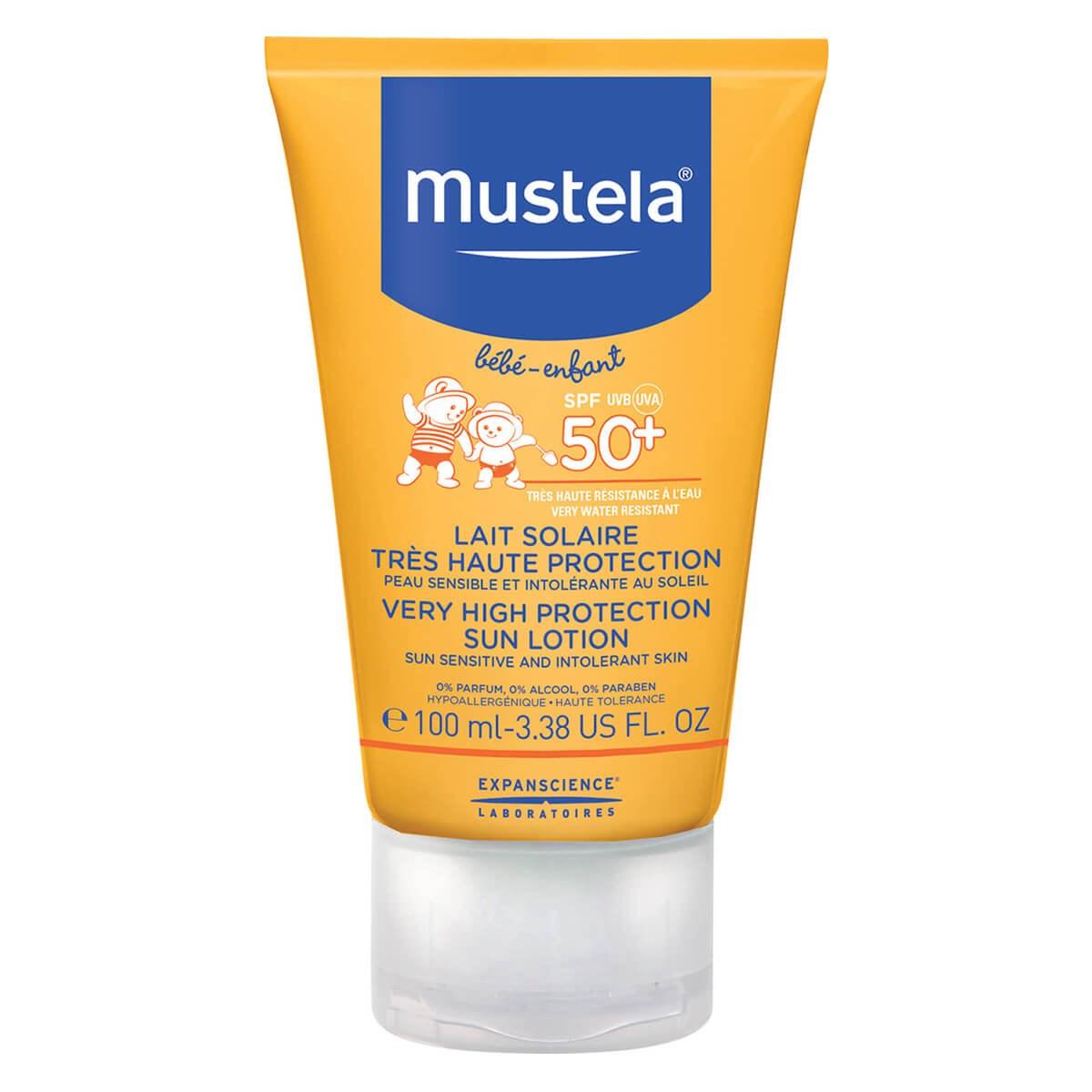Mustela Bébé Very High Protection Sun Lotion SPF50+