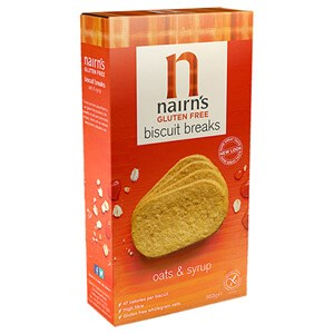 Nairn's Gluten Free Oat & Syrup Biscuit Breaks