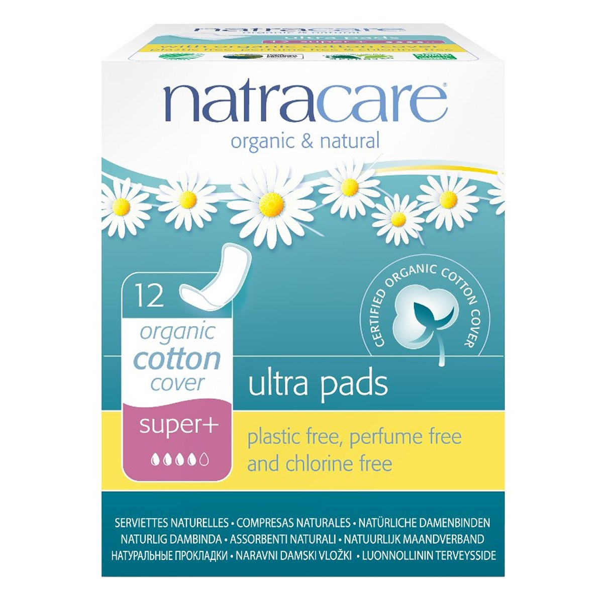 Natracare Organic & Natural Ultra Pads - Super Plus