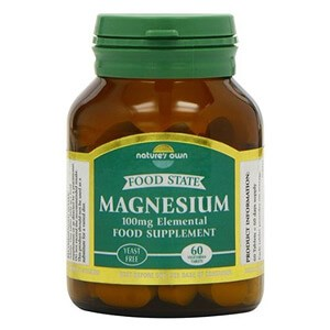 Nature's Own Food State Magnesium 100mg