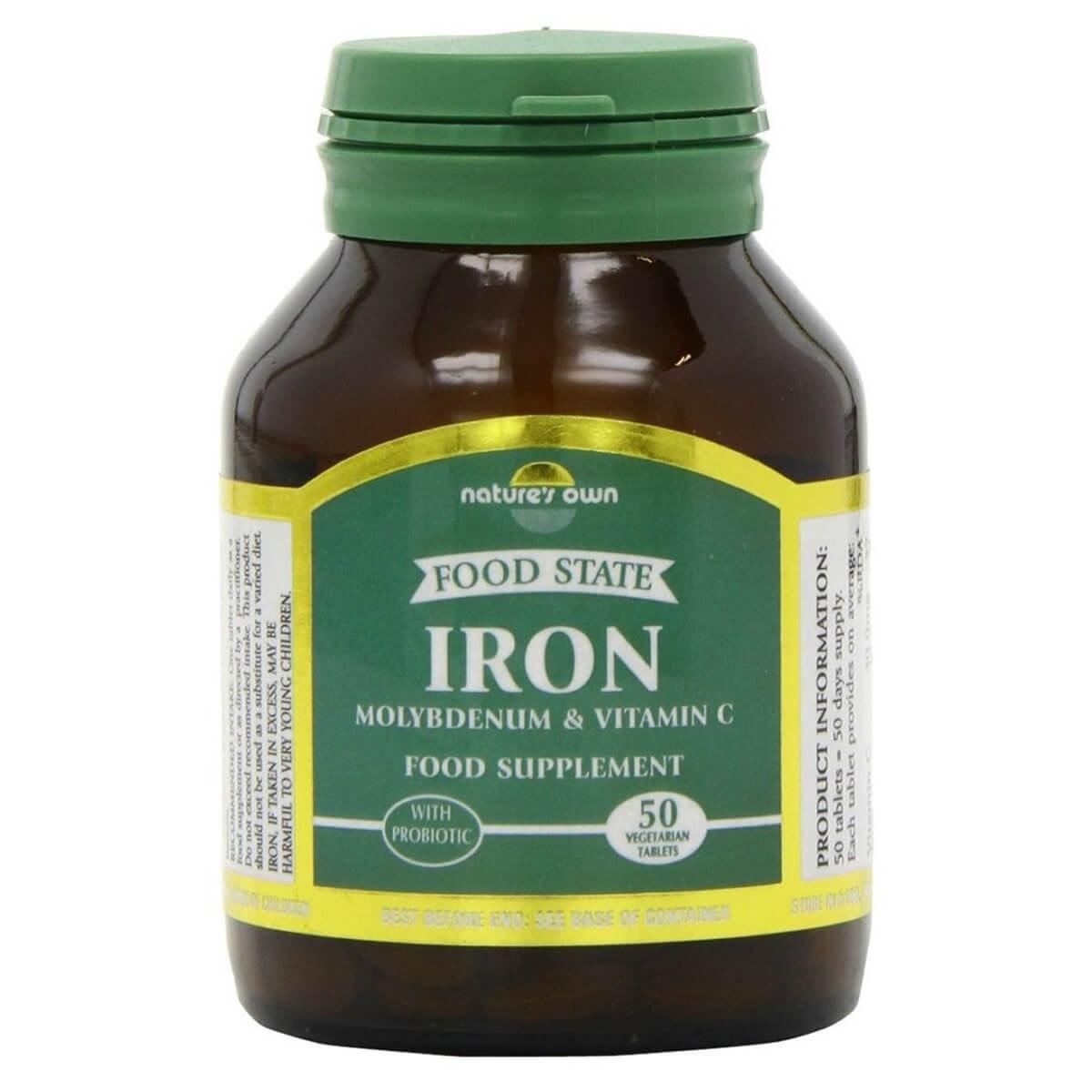 Nature's Own Iron + Molybdenum & Vitamin C