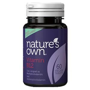Nature's Own Vitamin B12 500ug