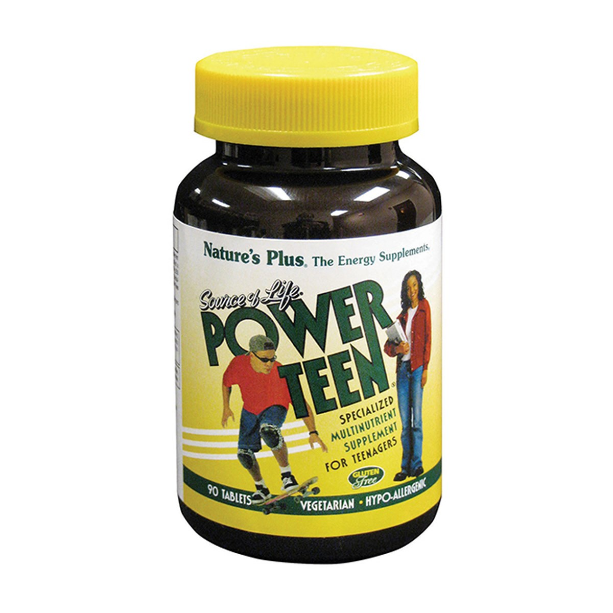 Natures Plus Power Teen - Multivitamin With Whole Foods Tablets