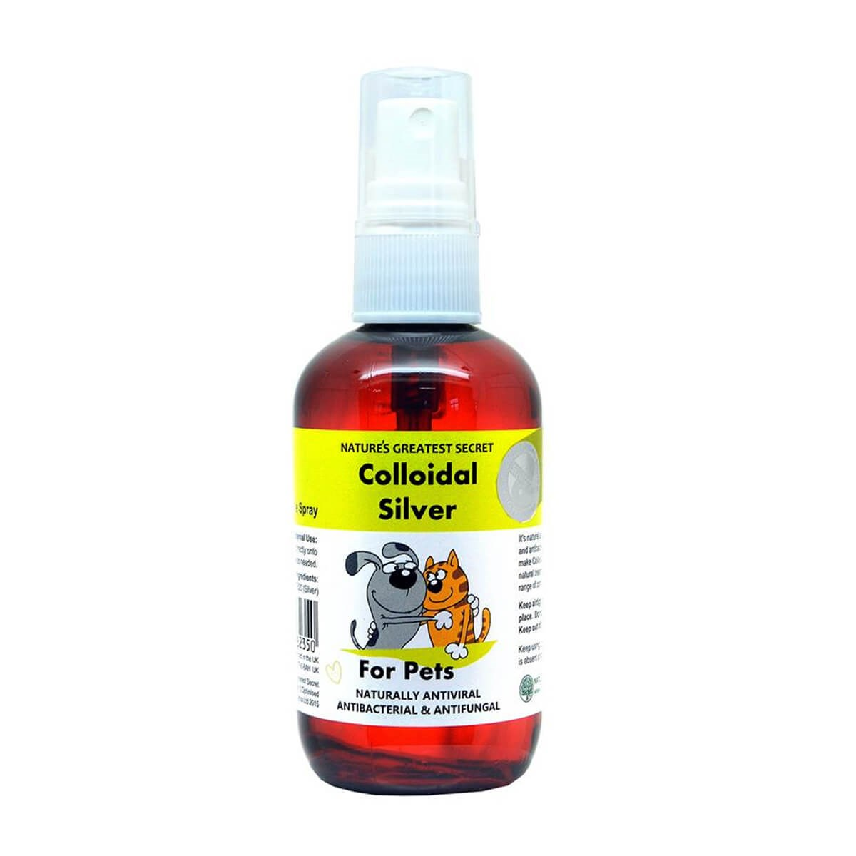 Nature's Greatest Secret Pets Colloidal Silver Spray