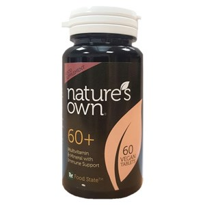Nature's Own 60+ Multivitamin & Mineral with Immune Support