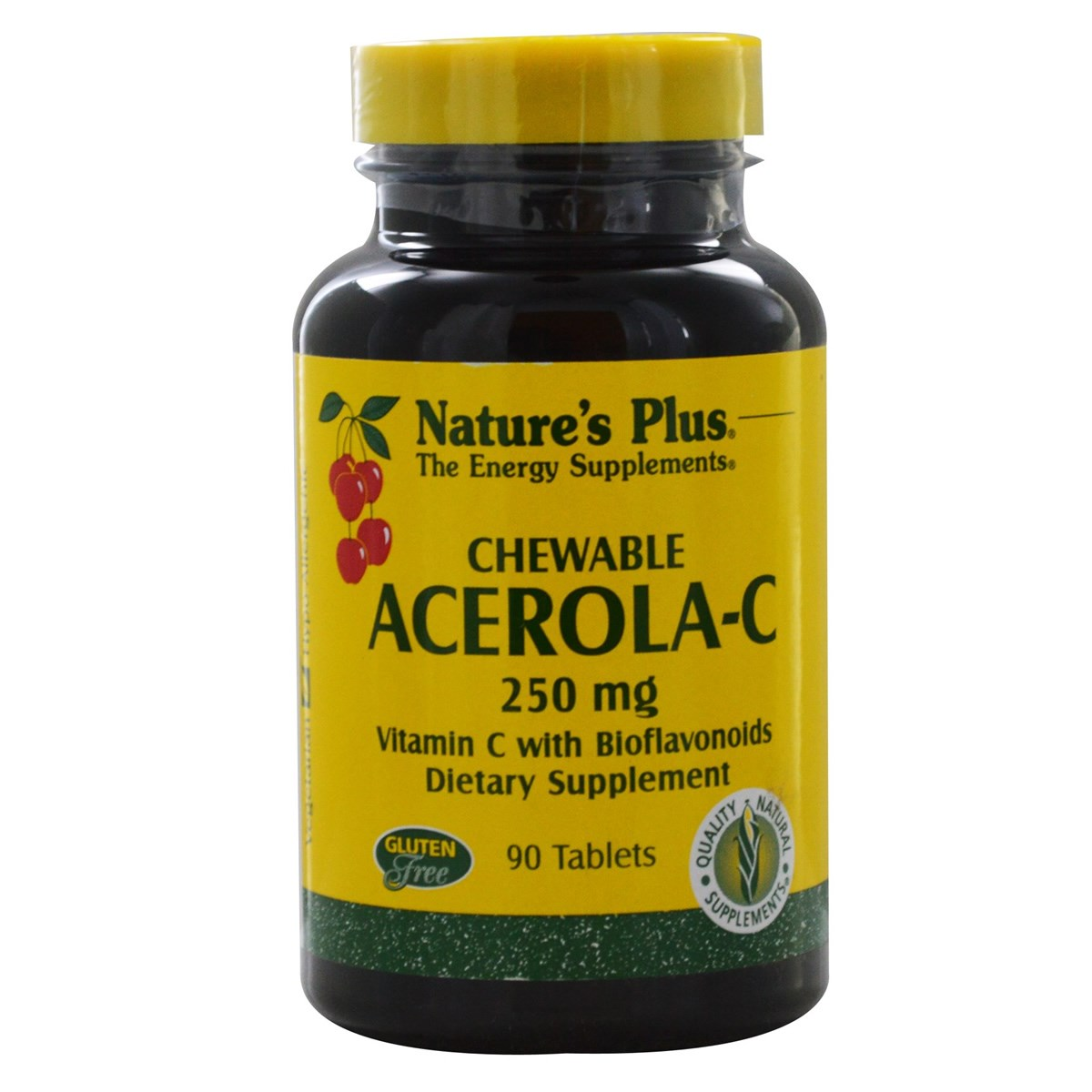 Natures Plus Acerola-C Complex - Chewable Vitamin C 250 mg Tablets