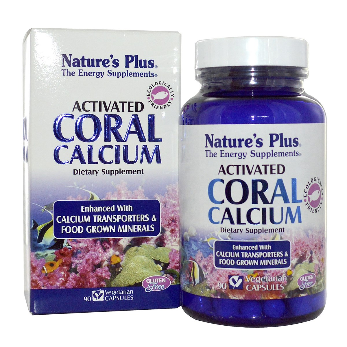 Natures Plus Activated Coral Calcium Vcaps