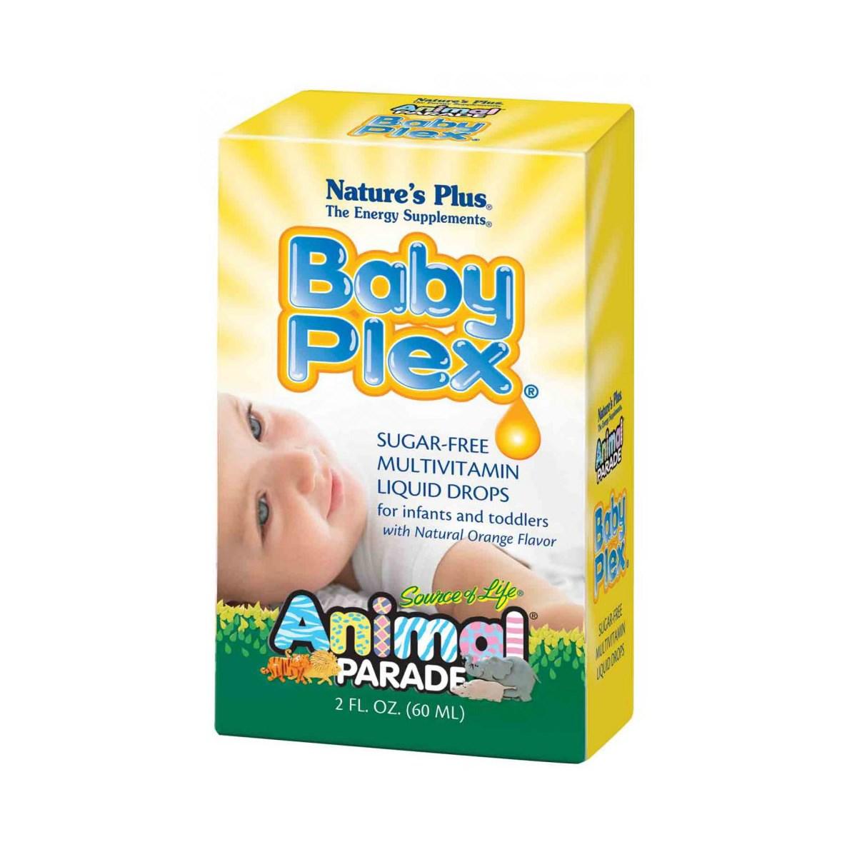 Natures Plus Animal Parade Baby Plex Sugar-Free Liquid Drops