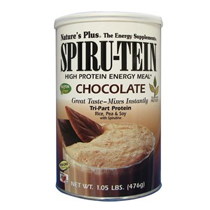 Natures Plus Chocolate Spiru-Tein  Shake