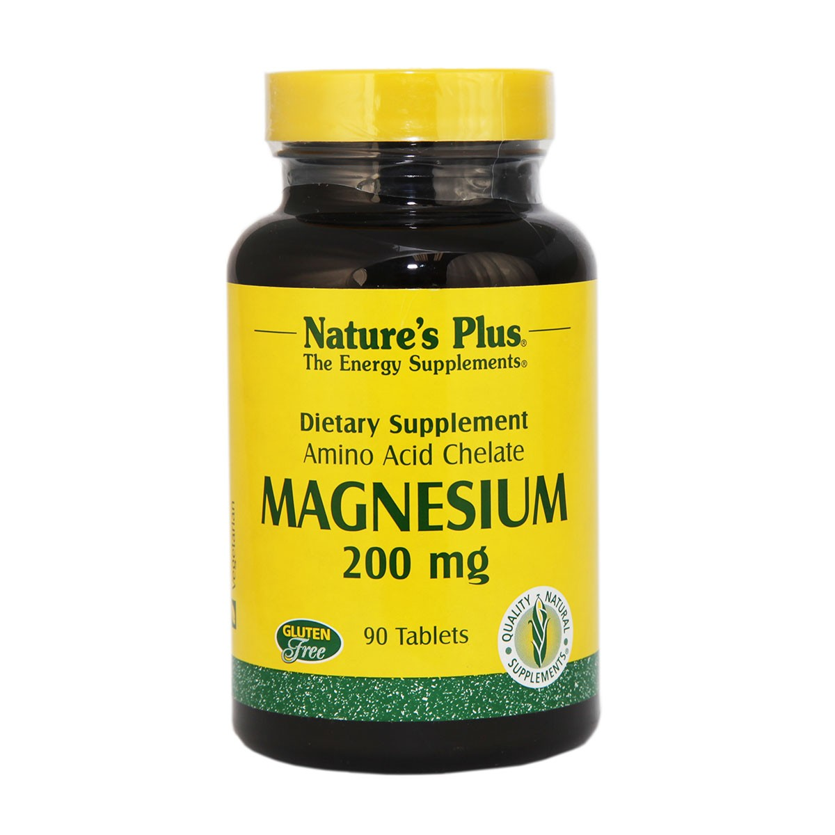Natures Plus Magnesium 200 mg Tablets
