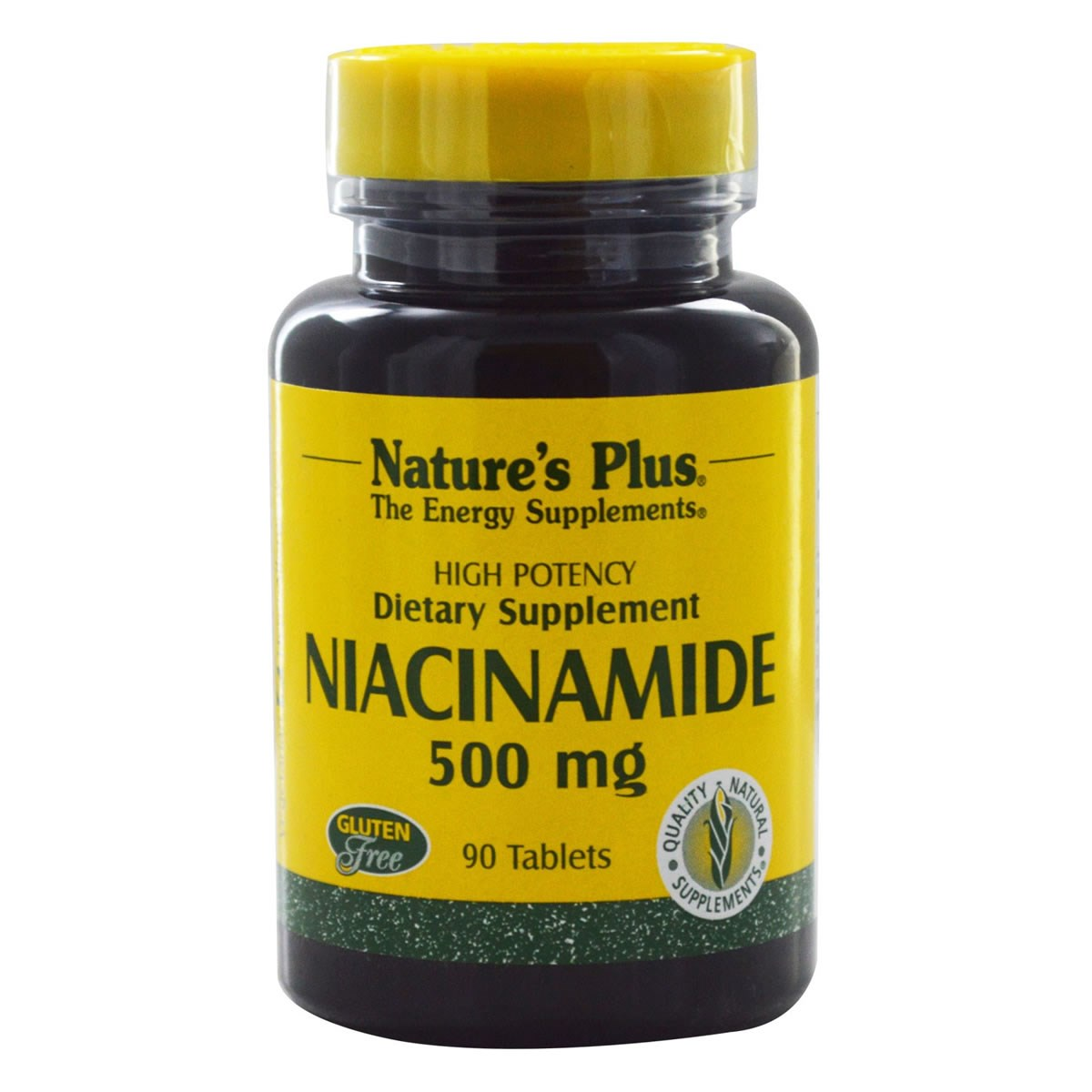 Natures Plus Niacinamide 500 mg Tablets