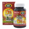 Natures Plus Source of Life Animal Parade Sugar Free Vitamin D3 500 IU - Black Cherry Flavour