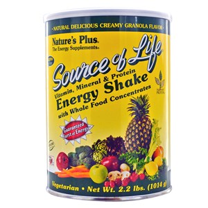 Natures Plus Source of Life Energy Shake 1.1lb