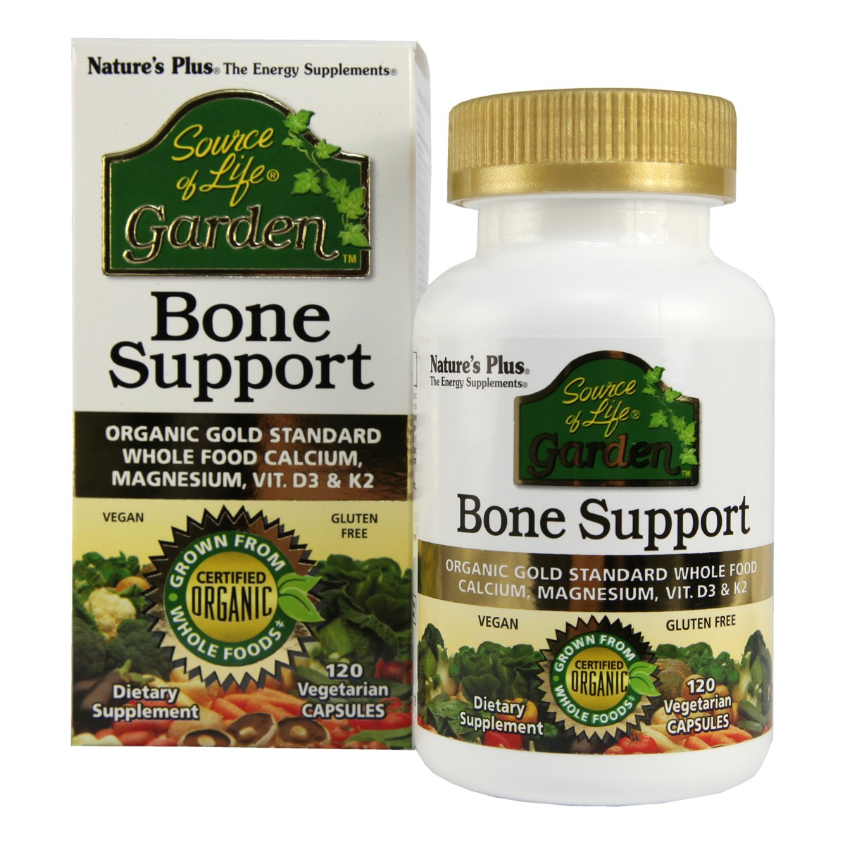 Natures Plus Source of Life Garden Bone Support Vcaps