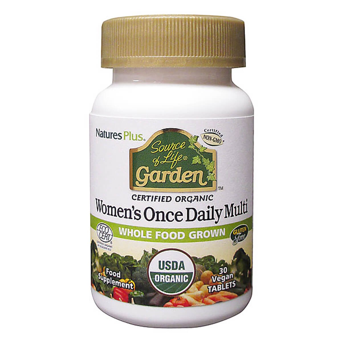 Natures Plus Source of Life Garden Organic Women's Daily Tablets