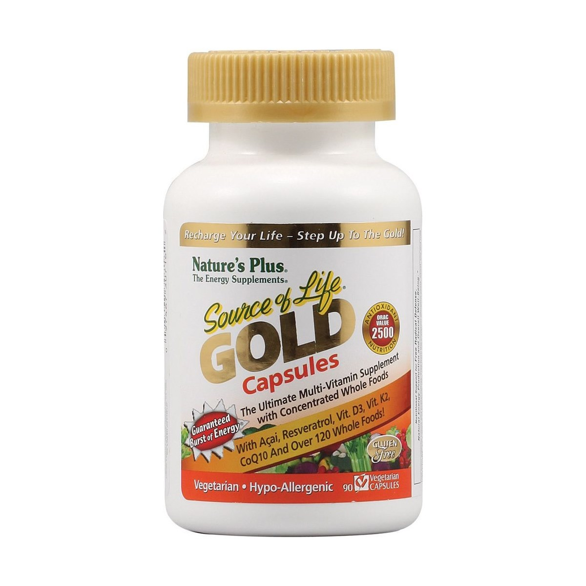 Natures Plus Source of Life GOLD Vcaps