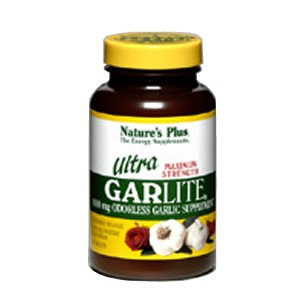 Natures Plus Ultra Garlite 1000 mg Sustained Release Tablets