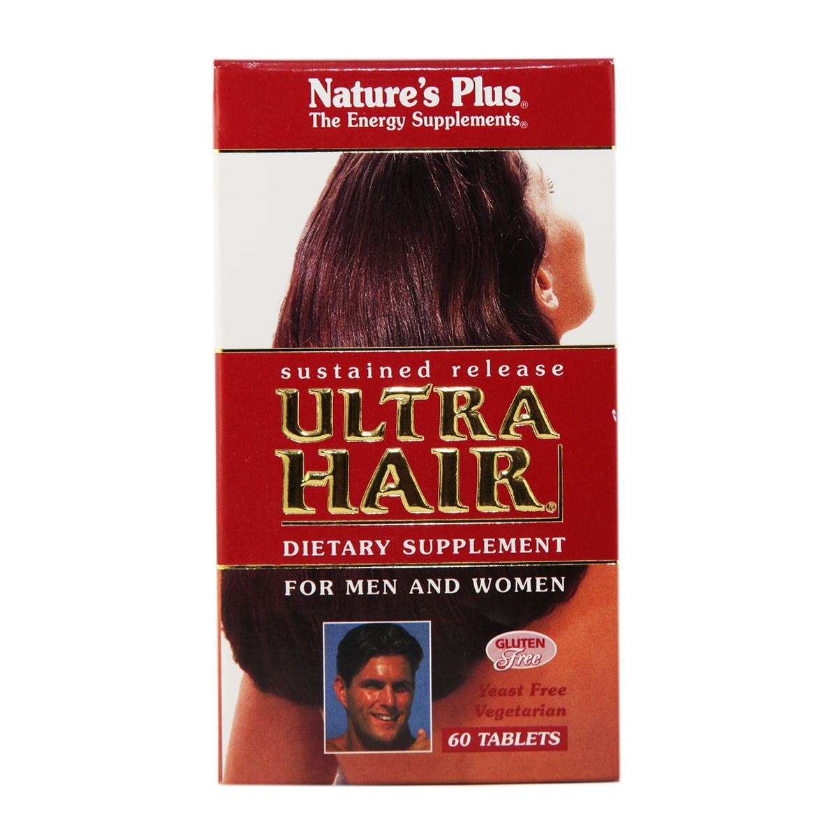 Natures Plus Ultra Hair Sustained Release Tablets