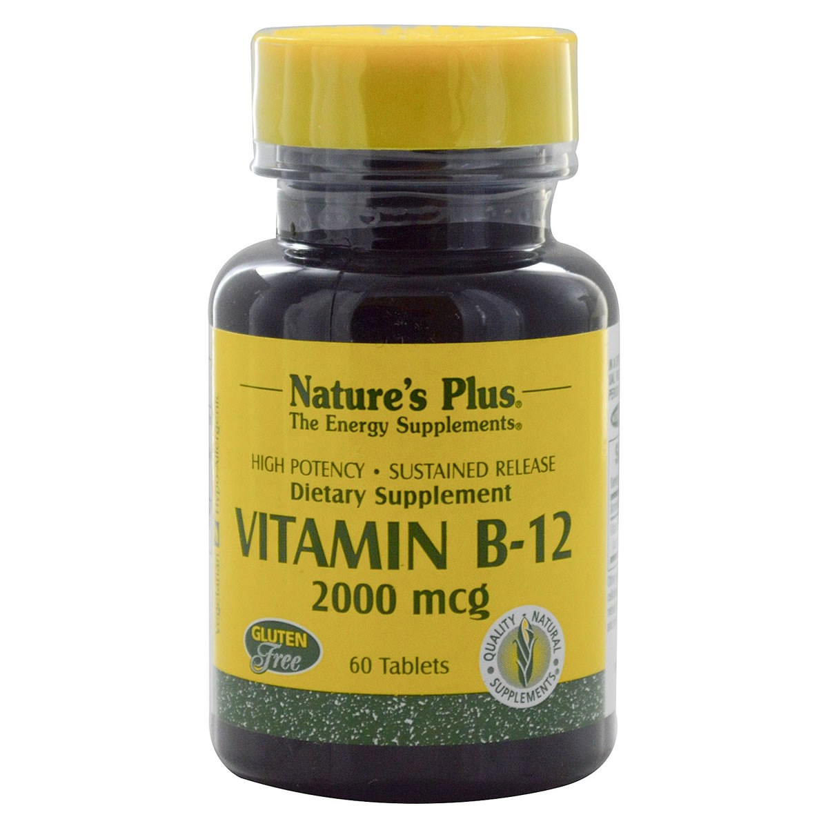 Natures Plus Vitamin B-12 2000 mcg - Sustained Release Tablets