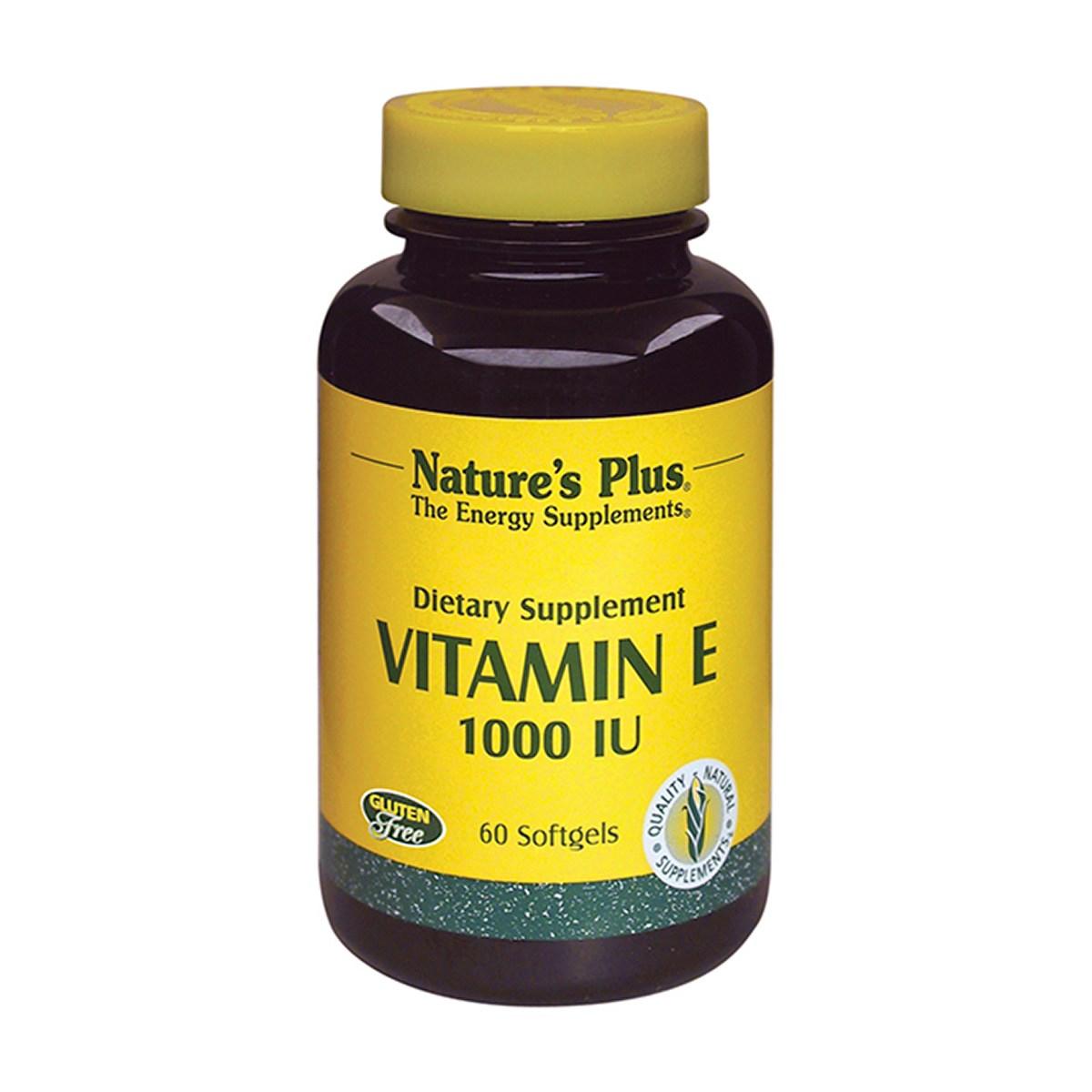 Natures Plus Vitamin E 1000 IU Softgels