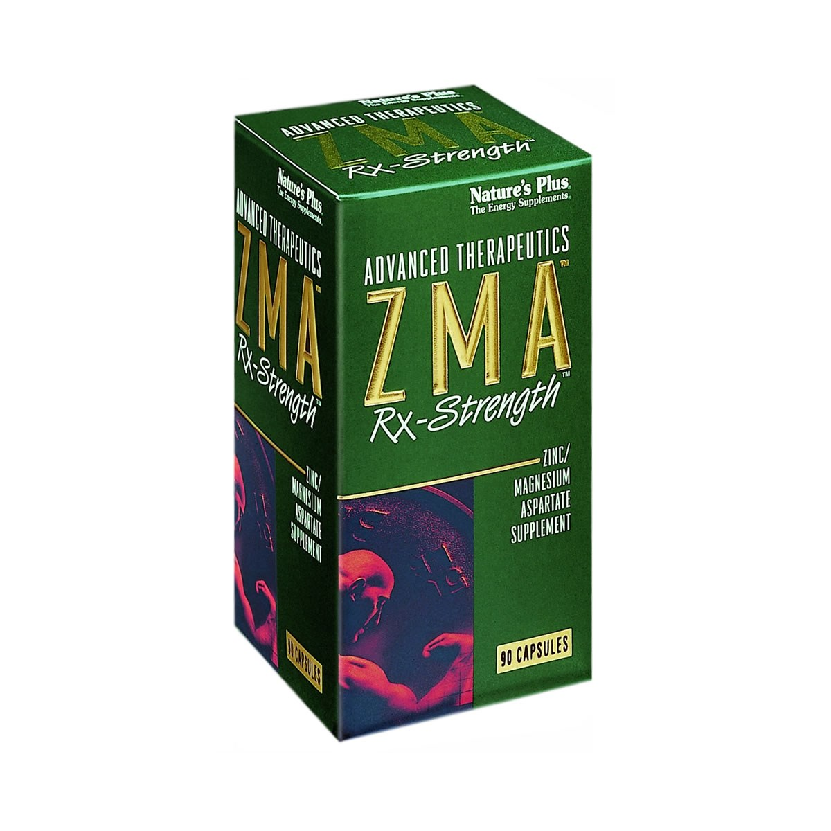 Natures Plus ZMA Rx-Strength Vcaps