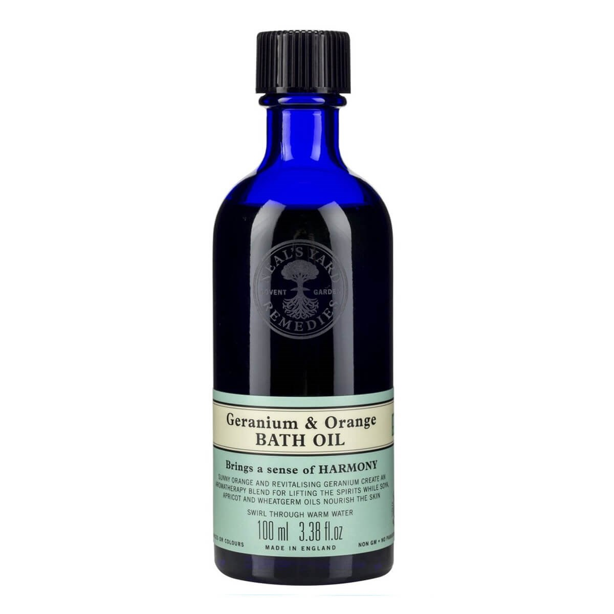 Neal's Yard Remedies Geranium & Orange Bath Oil