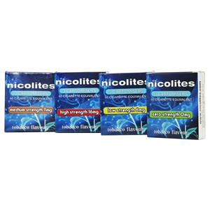 Nicolites 3 Cartomisers Tabacco Flavour