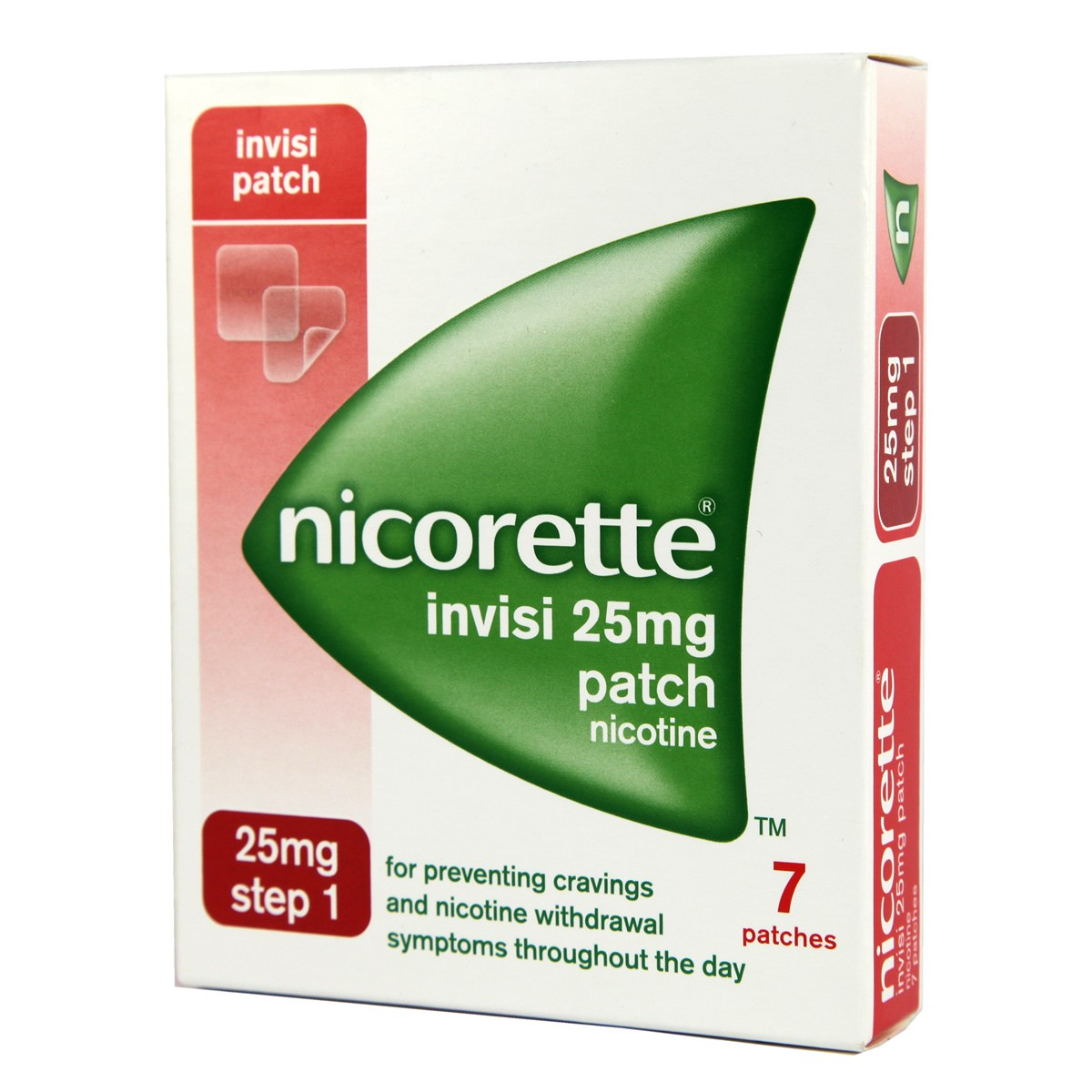 Nicorette Invisi Patch Step 1 - 25mg