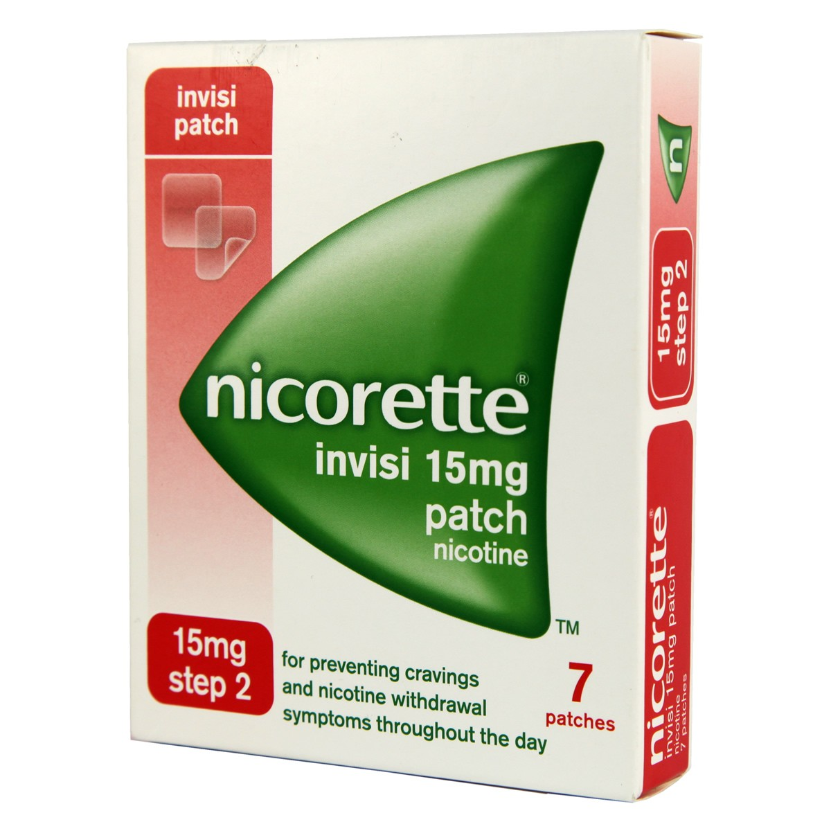 Nicorette Invisi Patch Step 2 - 15mg