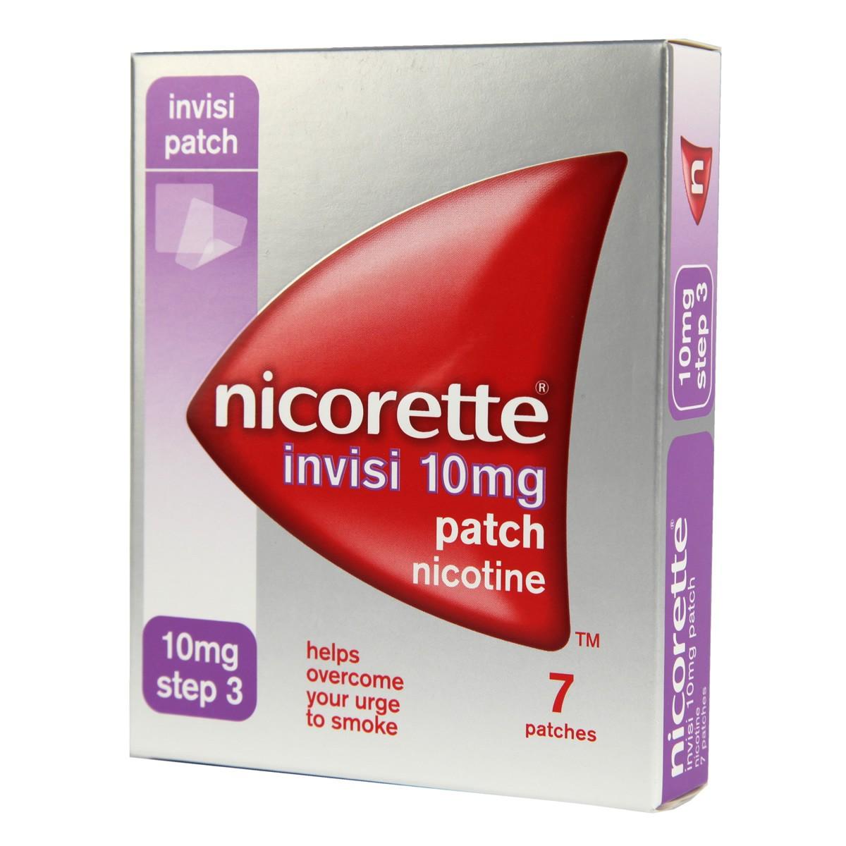 Nicorette Invisi Patch Step 3 - 10mg