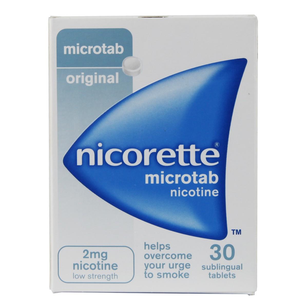 Nicorette Microtab 2mg