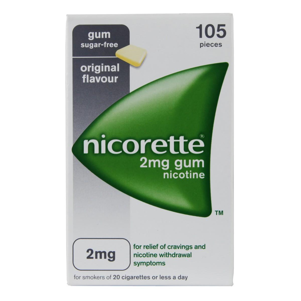 Nicorette Original Gum 2mg
