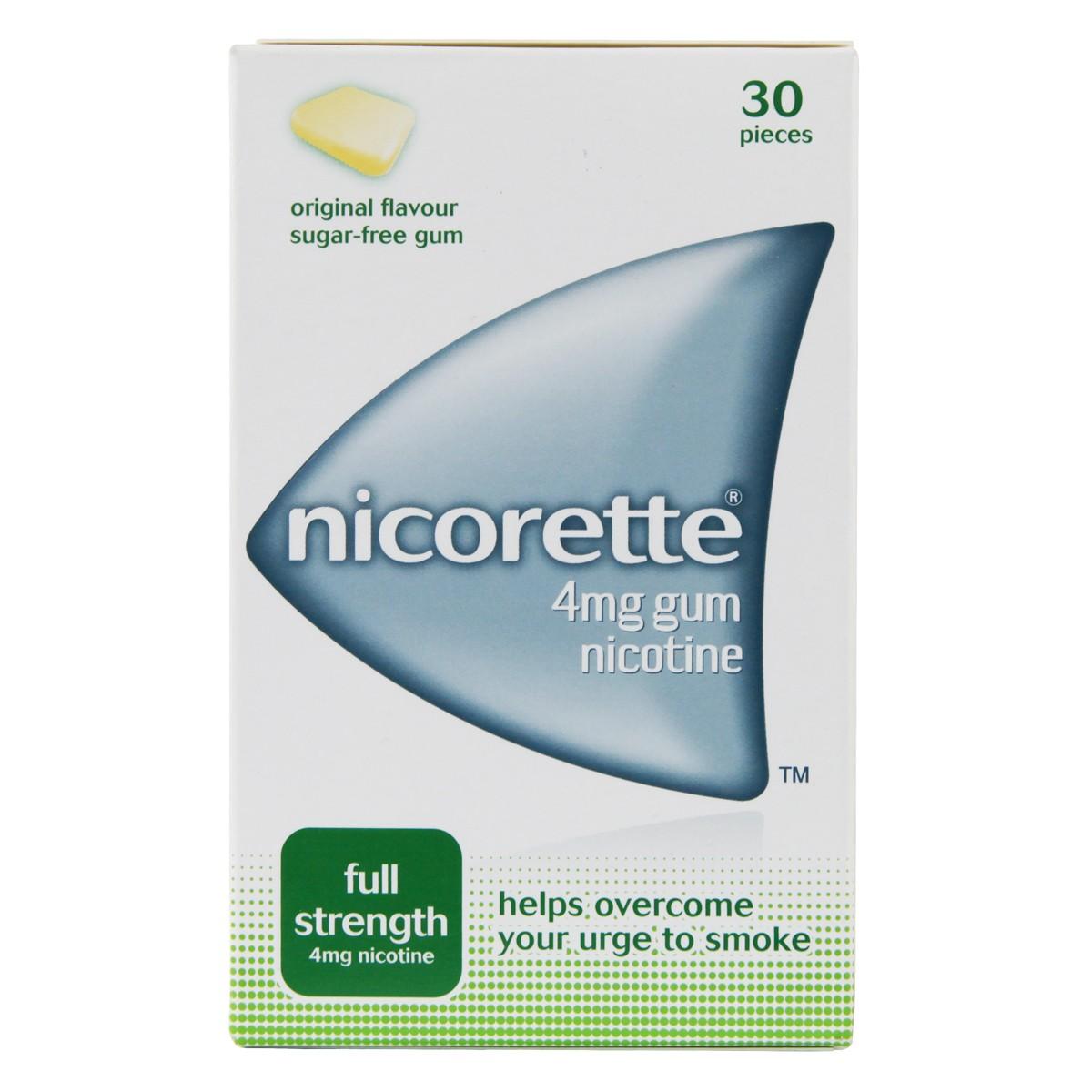 Nicorette Original Gum 4mg