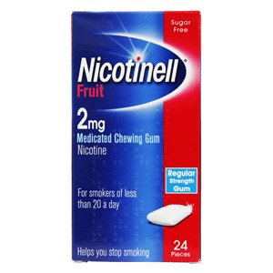 Nicotinell Fruit Chewing Gum 2mg