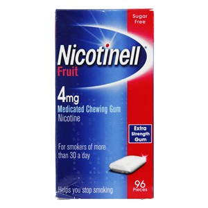 Nicotinell Fruit Chewing Gum 4mg