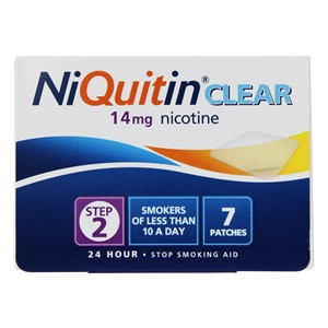 Niquitin Clear Patches 14mg - Step 2