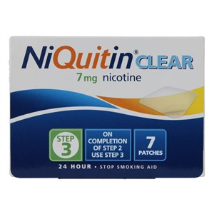 Niquitin Clear Patches 7mg - Step 3