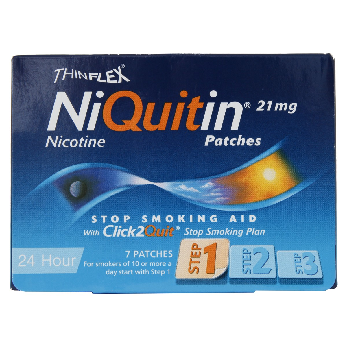 Niquitin Patches 21mg Original - Step 1 - 7 Patches