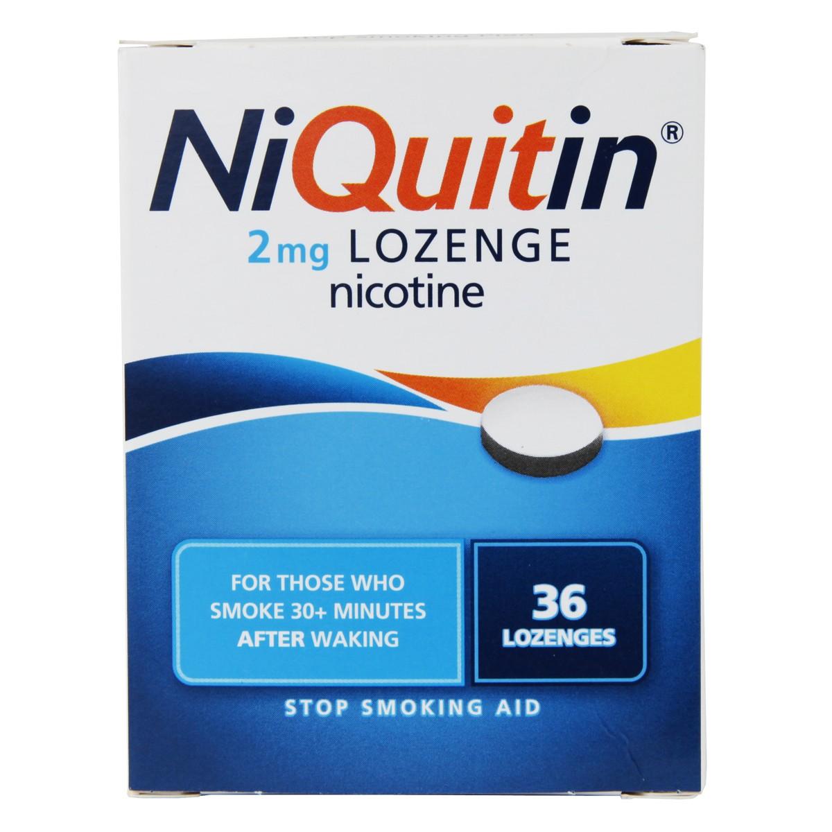Niquitin Lozenge Original 2mg