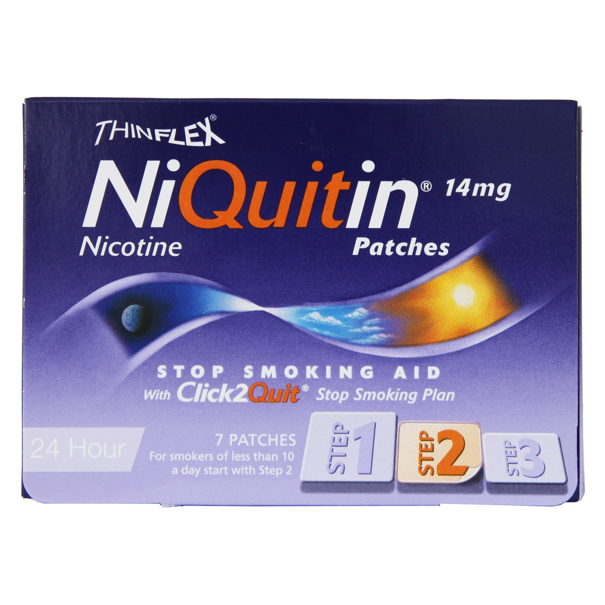 Niquitin Patches 14mg Original - Step 2 - 7 patches