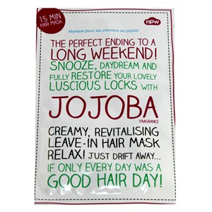 NPW Creamy, Revitalising Leave-in Hair Mask with Jojoba