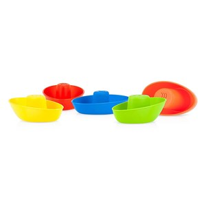 Image of Nuby Stacking Bath Boats - 5 pack 5 Pack